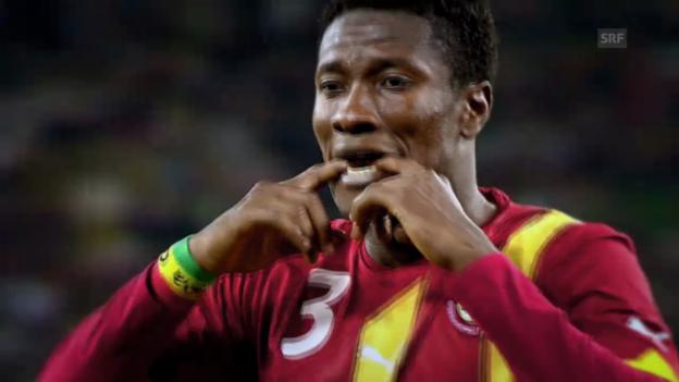 Video «Fussball: FIFA WM 2014, Ghana vor dem WM-Start» abspielen