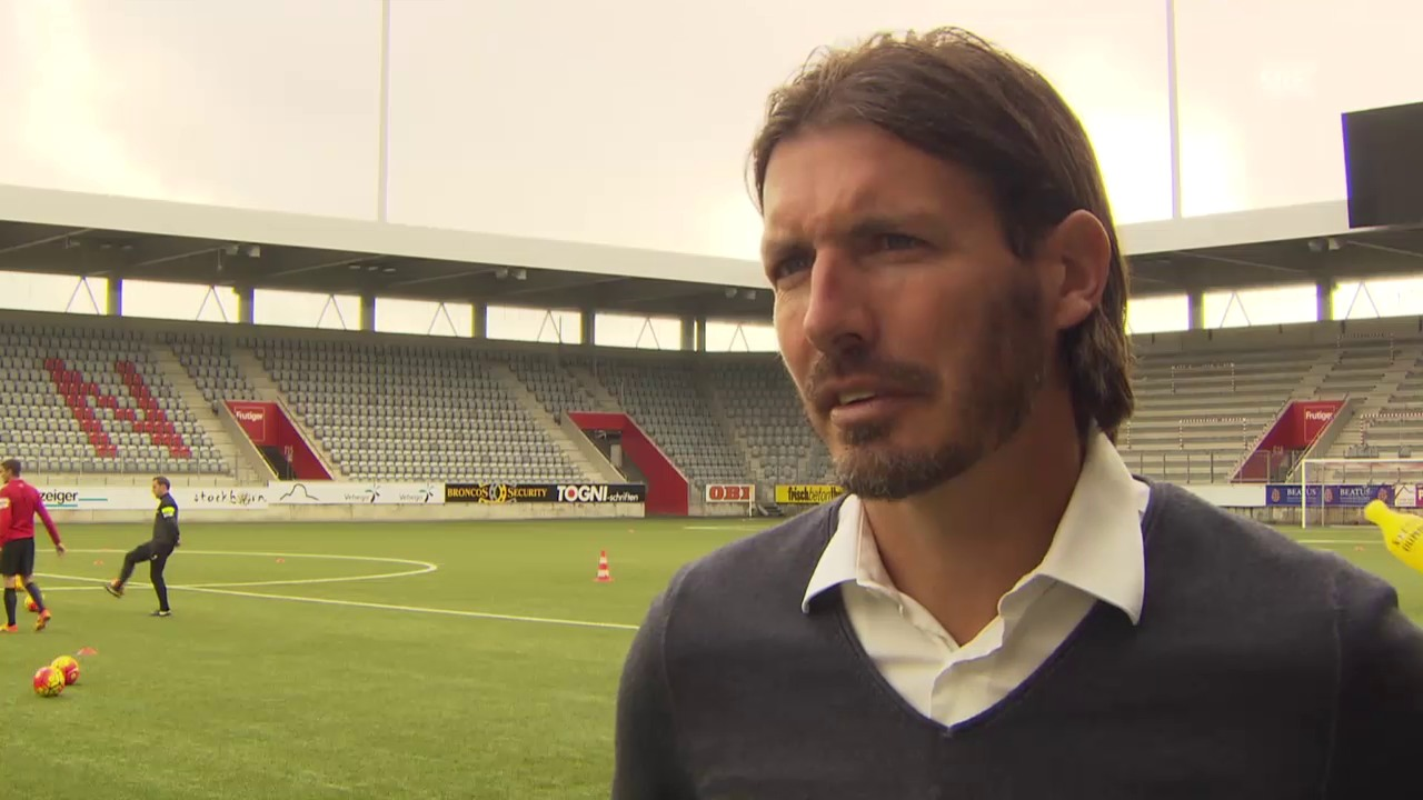Fussball: SL, Interview Andreas Gerber