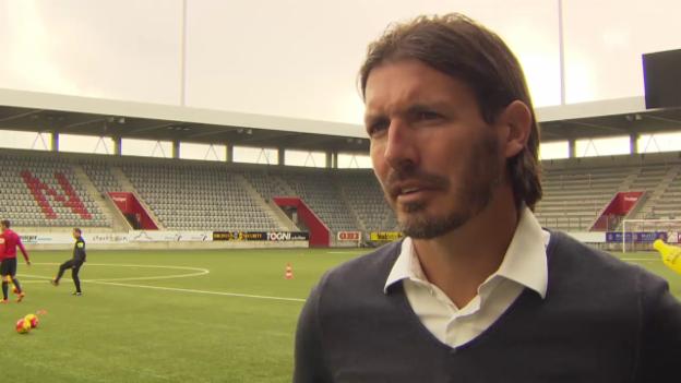 Video «Fussball: SL, Interview Andreas Gerber» abspielen