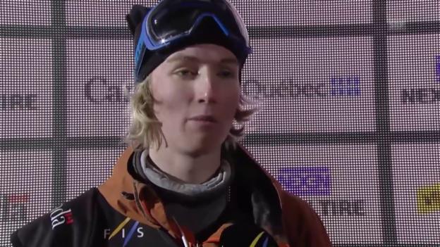 Video «Andri Ragettli: «Glücklich über den dritten Platz»» abspielen