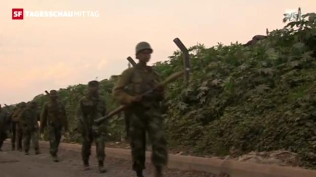 Video «Rebellen rücken vor. (Tagesschau)» abspielen