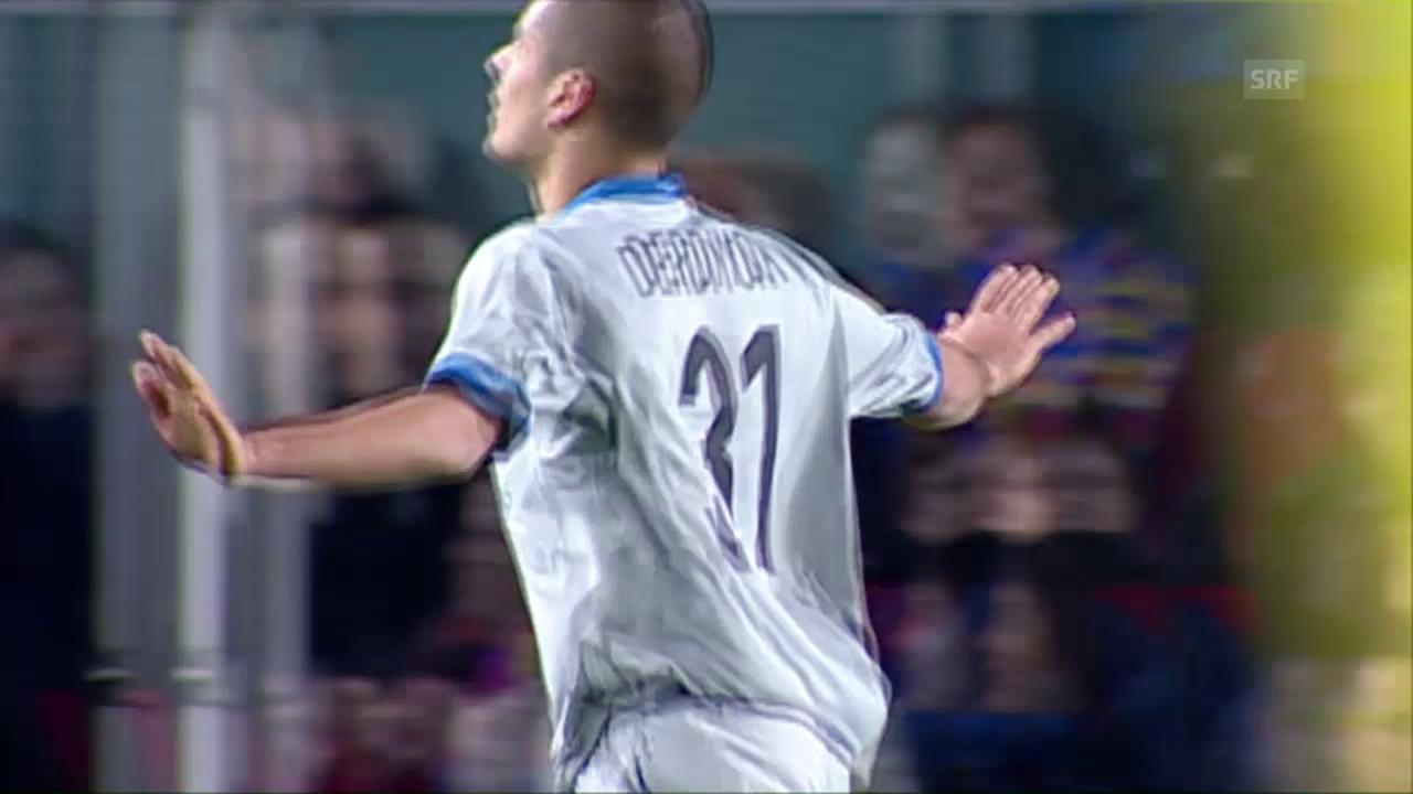 Basel trotzt Barcelona 2008 einen Punkt ab