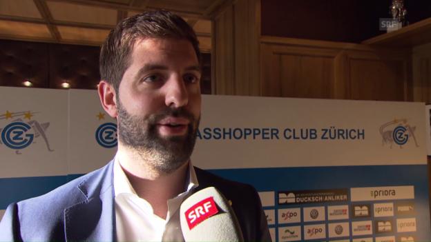 Video «Nach Dabbur-Transfer: CEO Huber nimmt Stellung» abspielen