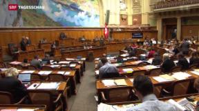 Video «Nationalrat gegen Service-Public-Initiative» abspielen