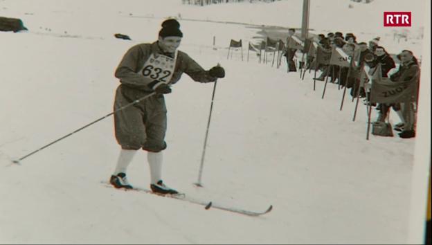Laschar ir video «40avel maraton da skis engiadinais cun il giubilar Florian Marugg»