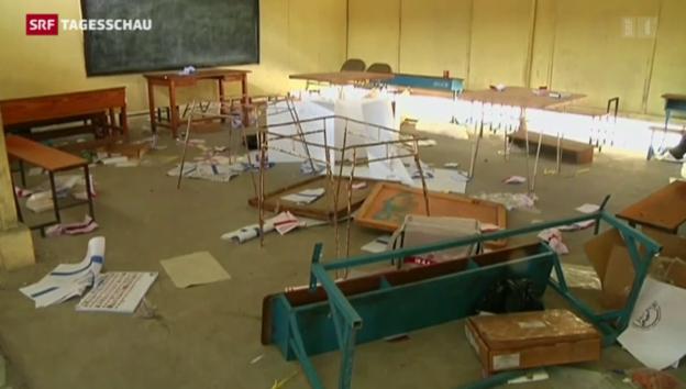 Video «Gewalt bei Wahlen in Haiti» abspielen