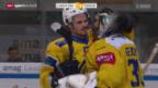 Video «Eishockey: NLA, Lausanne - Davos» abspielen