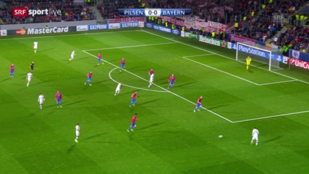 Video «CL: Pilsen - Bayern München («sportlive»)» abspielen
