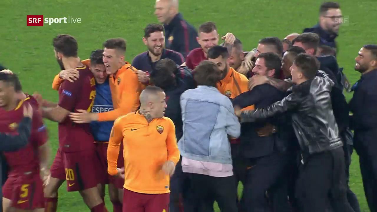 AS Roma schafft Wende gegen Barcelona
