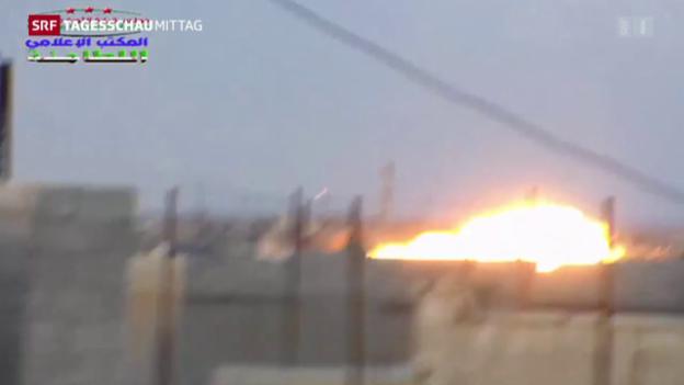 Video «Syrische Armee startet Offensive» abspielen