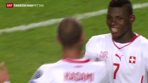 Video «Fussball: Schweiz gegen Estland» abspielen