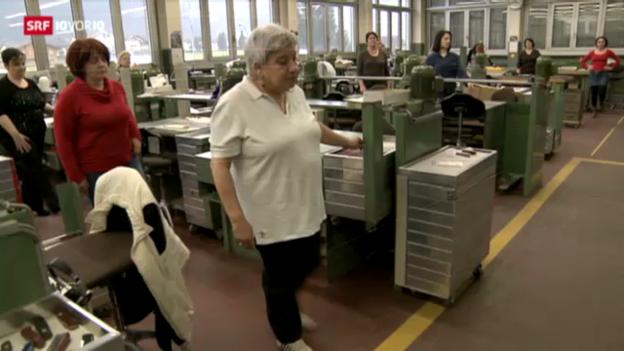 Video «Victorinox: Ein Unternehmen praktiziert 1:6» abspielen