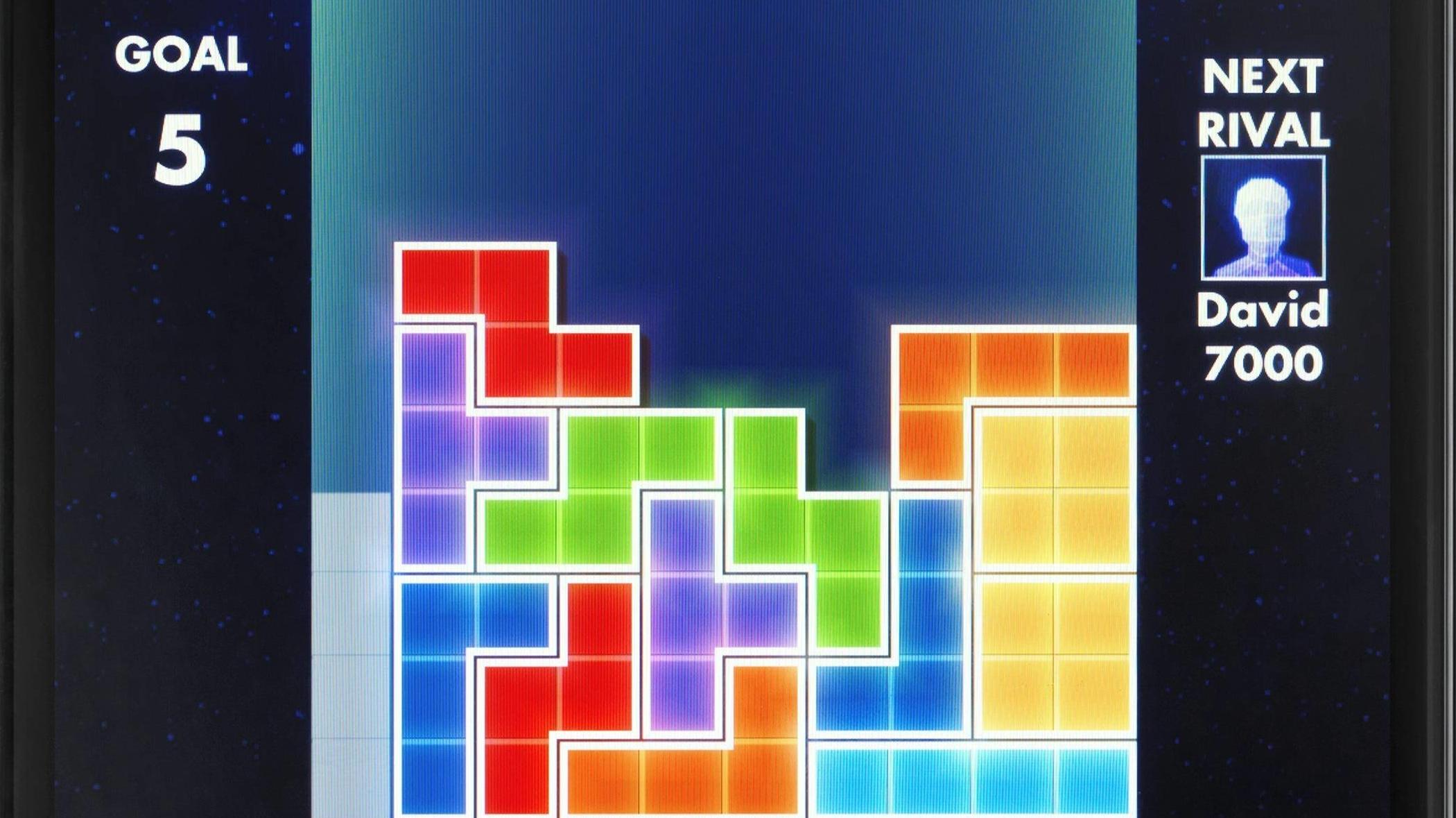 Tetris spielen gegen Traumata