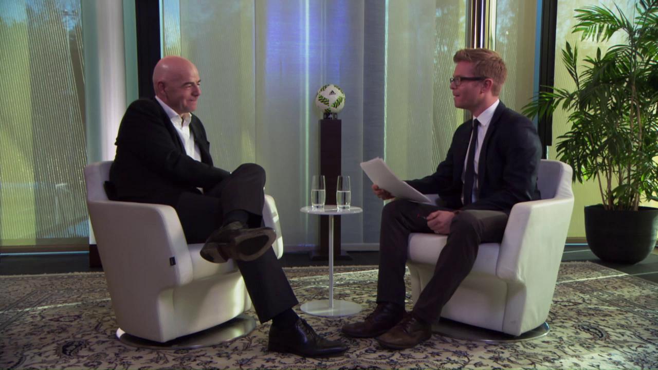 Fifa-Präsident Infantino und wie er in dieses Amt kam