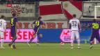 Video «Vier Tore, aber kein Sieger bei Thun-Vaduz» abspielen