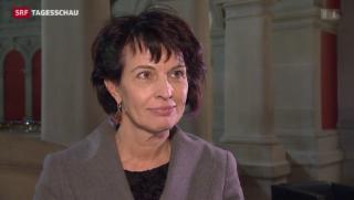 Video «Bundesrätin Leuthard zur gescheiterten Energiesteuer-Initiative» abspielen