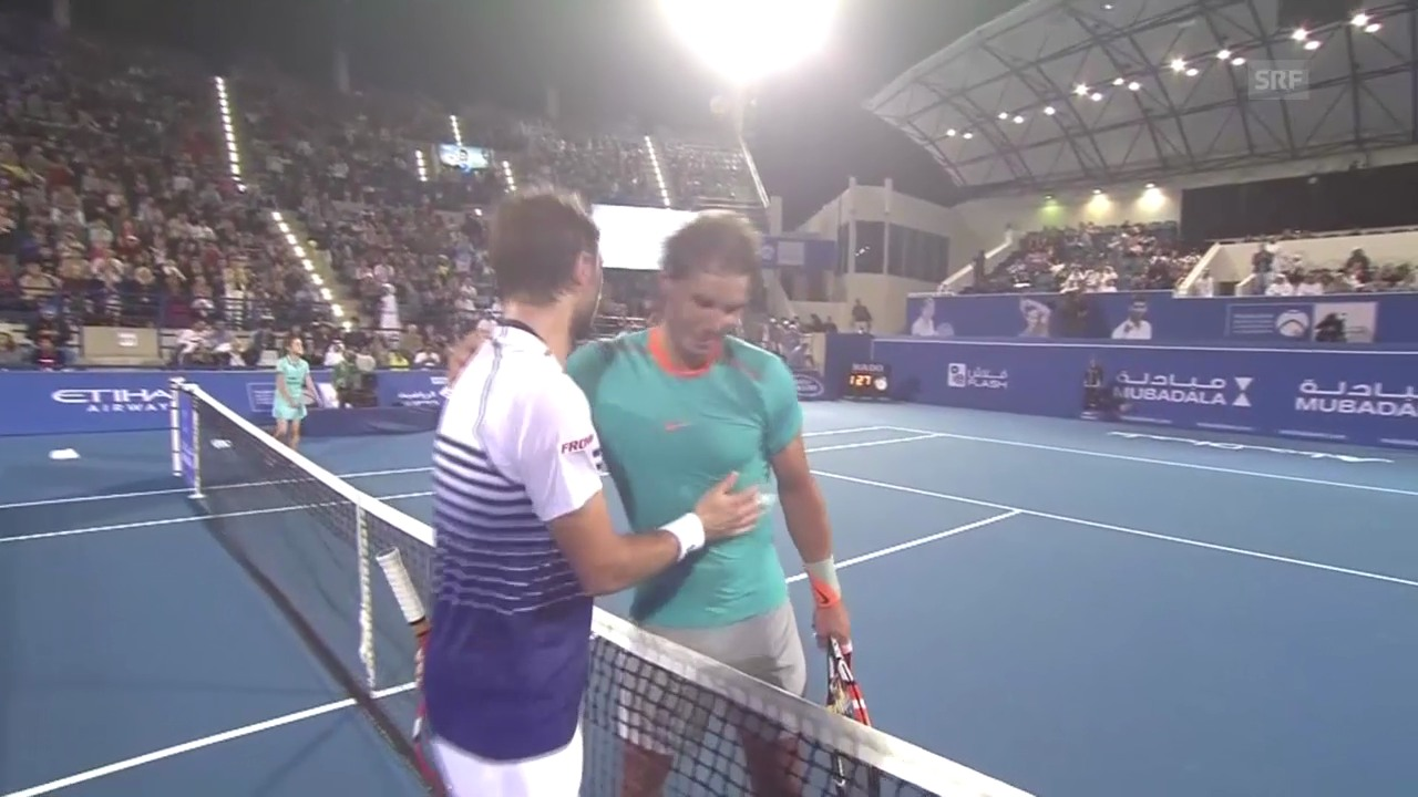 Tennis: Matchball Wawrinka - Nadal