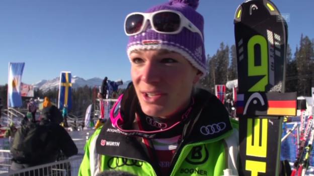 Video «Maria Höfl-Riesch im Interview» abspielen