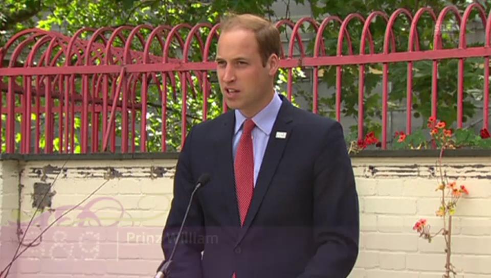 Prinz William: «George mag es lieber trocken»