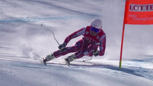 Video «Jansrud gewinnt den Olympia-Test in Jeongseon» abspielen
