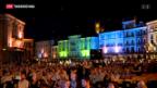 Video «Bundesrätlicher Besuch in Locarno» abspielen