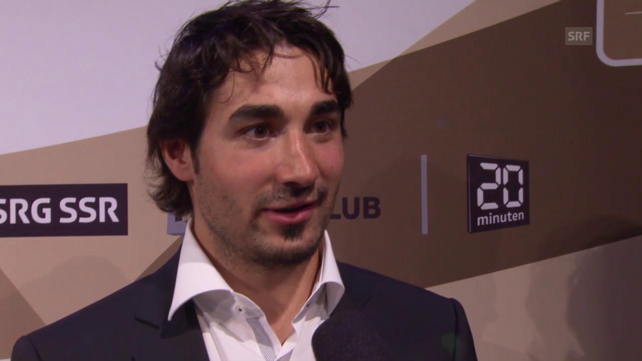 Eishockey: Hockey Awards, Andres Ambühl im Interview