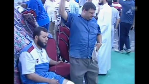 Video «Tote und Verletzte in Aegypten (unkomm.)» abspielen