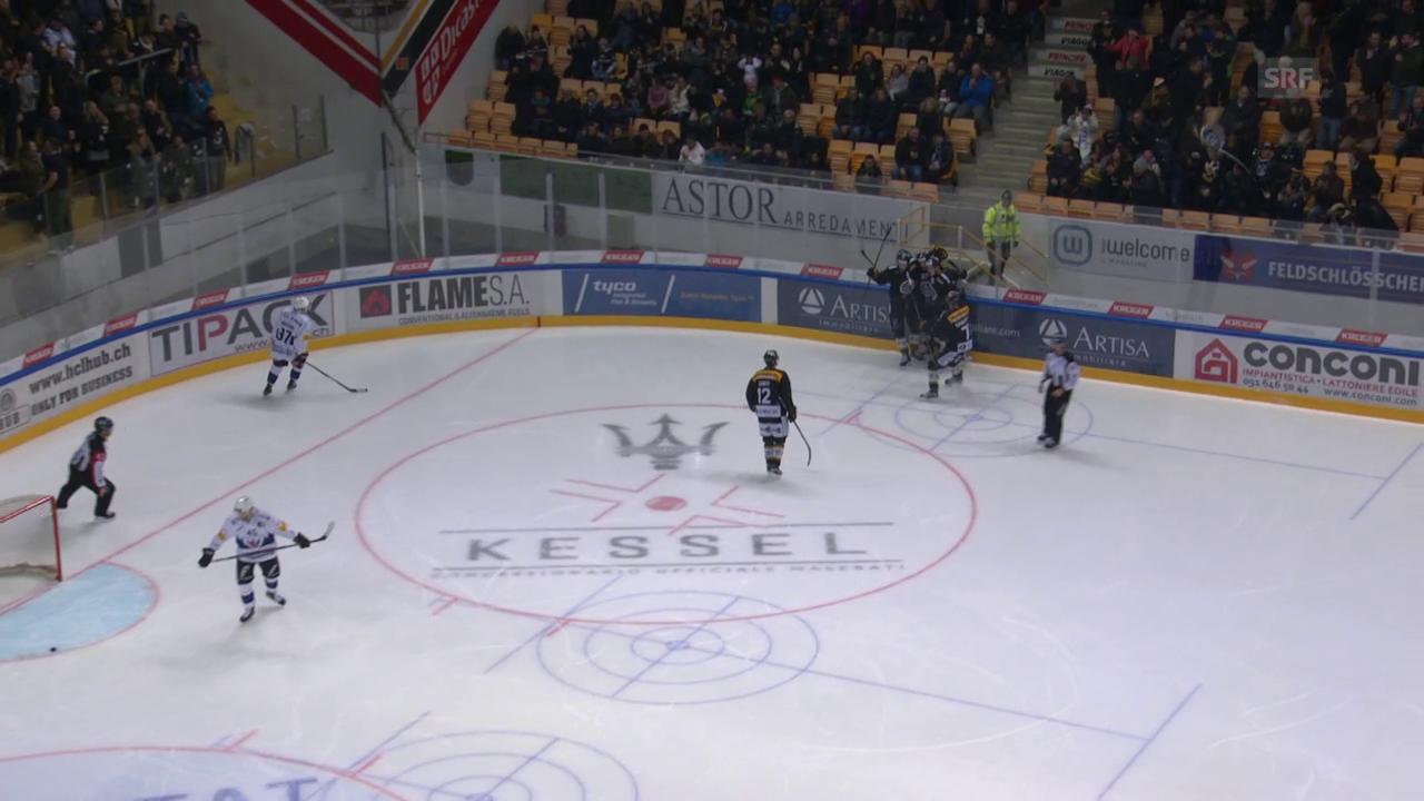 Luganos Doppelschlag innert 21 Sekunden