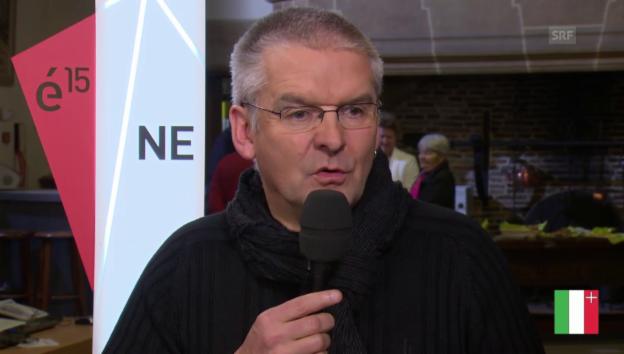 Video «Gespräch mit Denis de la Reussille» abspielen
