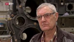 Video «Jakob Knöpfel restauriert aus Leidenschaft alte Lokomotiven» abspielen