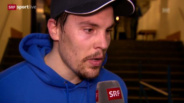 Video «Eishockey: Klotens Schelling im Interview» abspielen