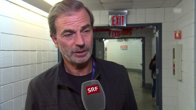 Video «Günthardts Federer-Analyse: «Erstaunliche Schlag-Wahl»» abspielen