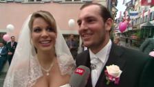 Video «Amore fantastico: Sängerin Yasmine-Mélanie heiratet» abspielen