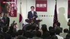 Video «Klares Votum für «Abenomics»» abspielen