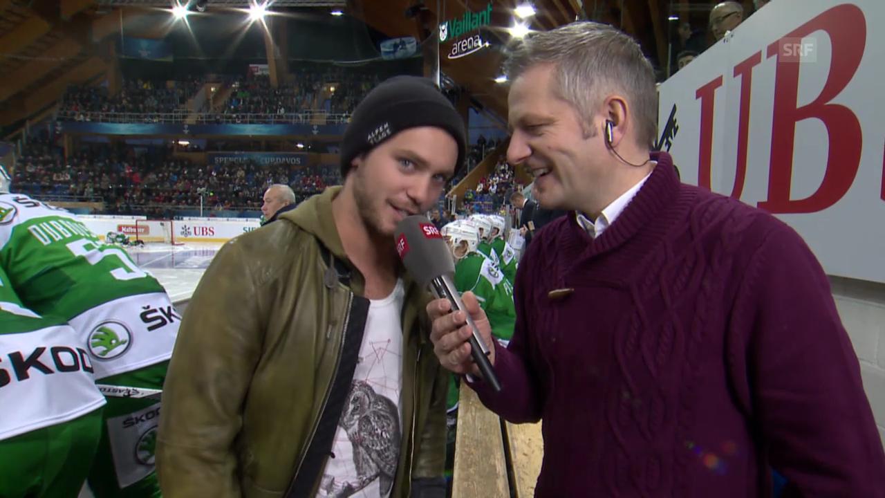 Eishockey: Spengler Cup, VIP-Gespräch mit Bastian Baker