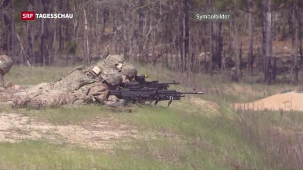 Video «Nato-Truppen für Osteuropa» abspielen