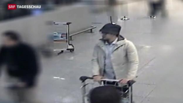 Video «Fahndung nach drittem Flughafenattentäter geht weiter» abspielen
