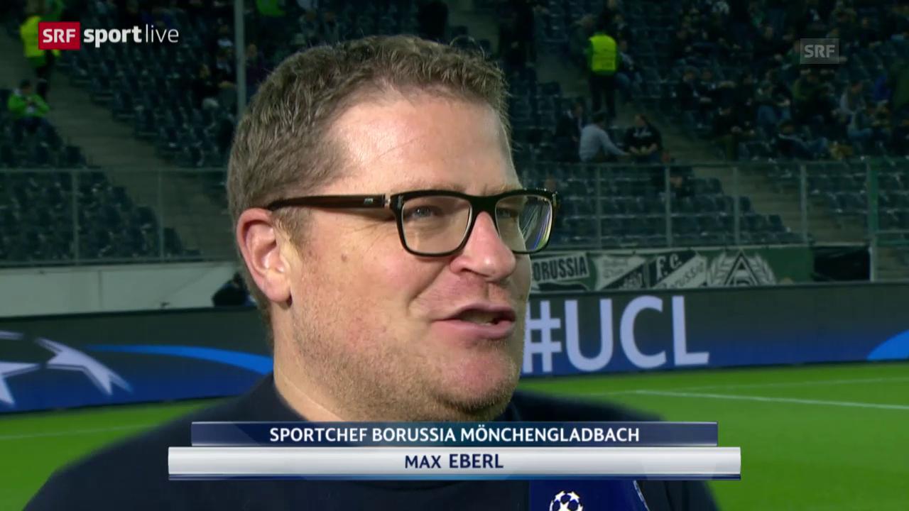 Fussball: Max Eberl über André Schubert