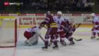 Video «Eishockey: NLA, Genf - Lausanne» abspielen