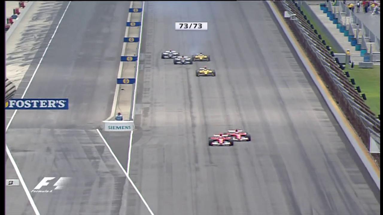 Der Skandal-GP von 2005