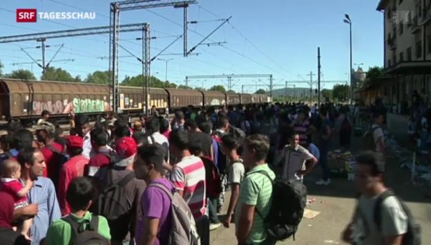 Video «Mazedonien erklärt Ausnahmezustand» abspielen