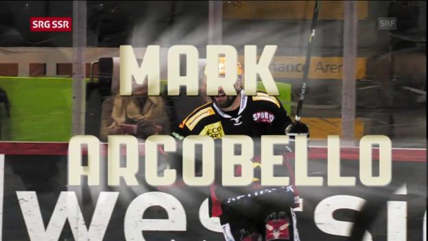 Video «MVP Regular Season: Mark Arcobello» abspielen
