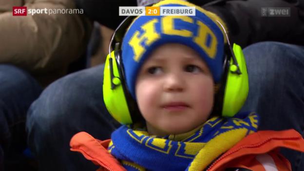 Video «HCD schlägt Freiburg» abspielen