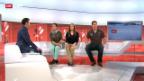 Video «Die Gisins über ihre Situation im Ski-Zirkus» abspielen
