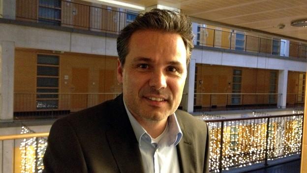 Daniel Hodel ist Stadtratskandidat der Grünliberalen (Christoph Brunner, 19.12.2012)