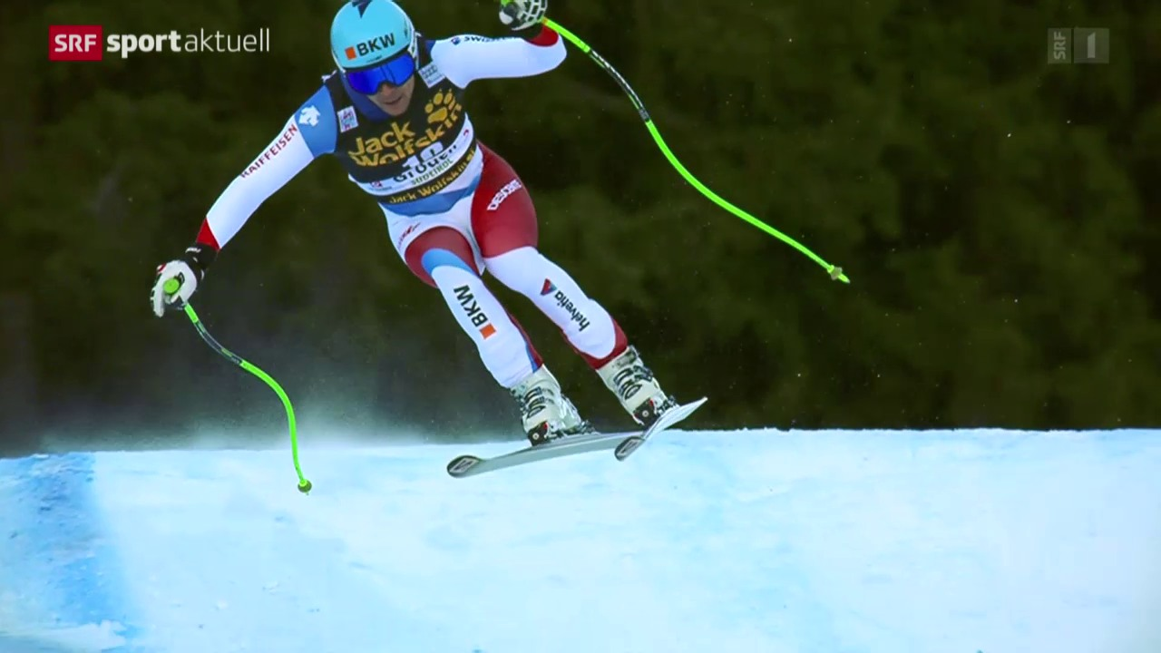Ski: Männer-Abfahrt in Gröden