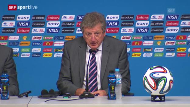 Video «Roy Hodgson an der Pressekonferenz» abspielen