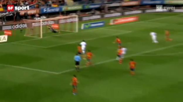 Video «WM-Quali: Spanien - Frankreich» abspielen