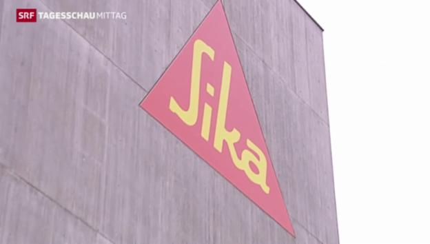 Video «Sika-Verwaltungsrat kämpft um Kontrolle» abspielen