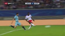 Link öffnet eine Lightbox. Video Leipzig feiert gegen Porto ersten CL-Sieg abspielen